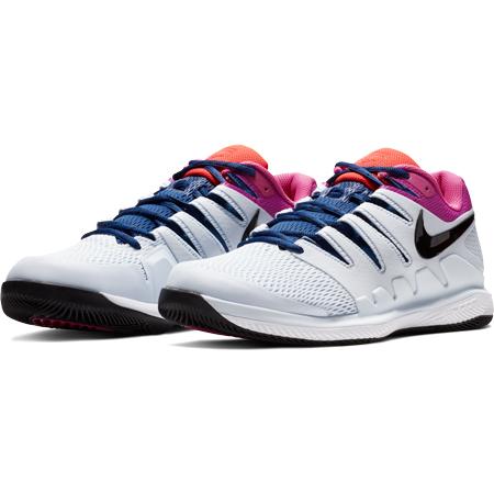 e0d857427b53 Pánská tenisová obuv Nike Air Zoom Vapor X Half Blue White - náhled